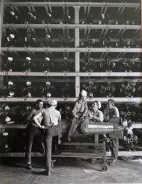 Horace Bristol, Gossipping in Torpedo Room, 1943