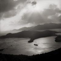 Margo Davis, English Harbour, Antigua, 1967