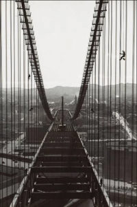 Peter Stackpole, Construction of the Bay Bridge, c1935